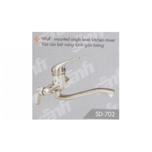Vòi rửa bát nóng lạnh Sanfi SD702