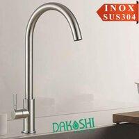 Vòi rửa chén bát inox Dakoshi D702