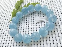 Vòng tay đá Aquamarine 12ly