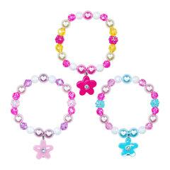Vòng tay hoa mai xinh xắn Pink Poppy BCF412