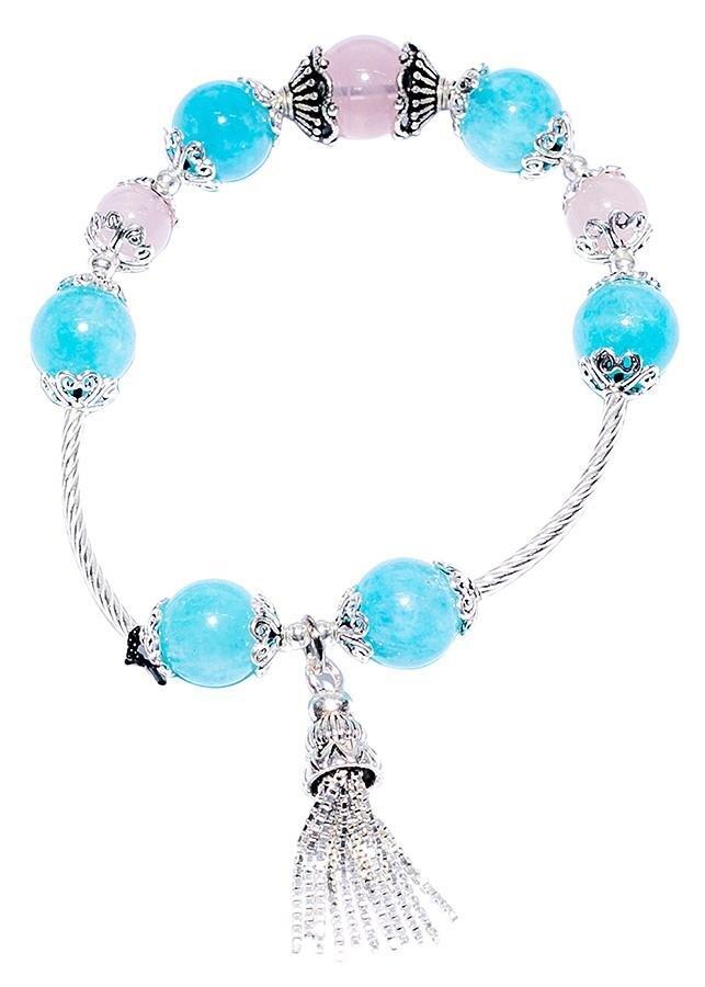 Vòng tay Tỏi's Jewelry đá phối Charm bạc VD17026