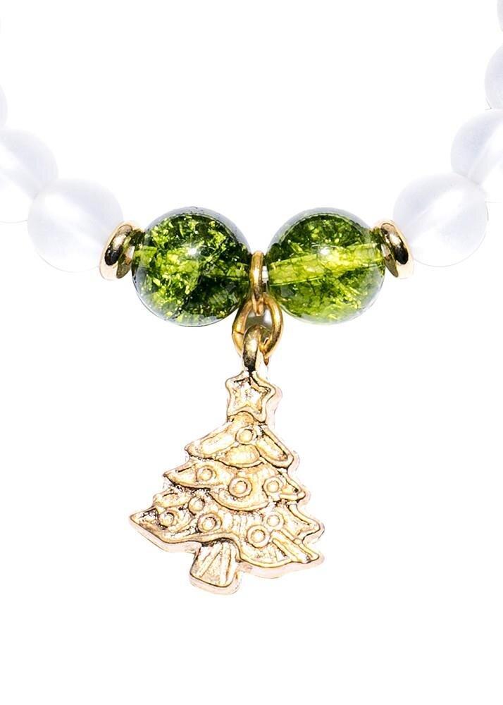 Vòng tay Tỏi's Jewelry đá phối Charm Noel VD17035