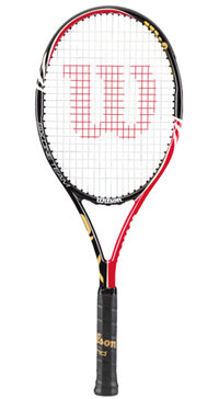 Vợt Tennis Wilson Six One Team 95 BLX - Mẫu 2012