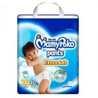 Tã quần MamyPoko Boys size XXL 10 miếng (trẻ từ 15 - 25kg)
