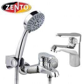 Cặp đôi sen tắm & vòi lavabo CB013