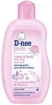 Sữa tắm gội toàn thân dạng túi Baby Dnee 380ml