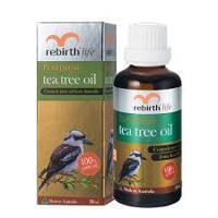 Tinh Dầu Tràm Trà Rebirth Life Platinum Tea Tree Oil 50ml