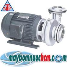 Máy bơm trục ngang đầu inox NTP HVS350-11.5 205 2HP