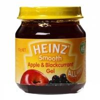 Dinh dưỡng đóng lọ Heinz táo và nho đen 110g