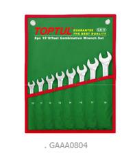 Bộ cờ lê vòng miệng mờ 8 món (10-19mm)