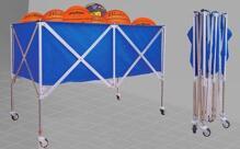 Xe đựng bóng rổ inox S1599