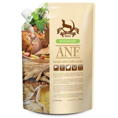 Thức ăn hạt hữu cơ ANF cho chó vị thịt vịt và yến mạch (Organic ANF Du...