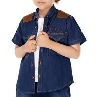 Áo khoác jean bé trai YF 7AY03511