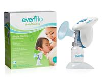 Máy hút sữa đơn dùng điện hoặc pin Evenflo