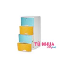 Tủ nhựa Đại Đồng Tiến Nice T1000 4N