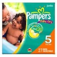 Tã dán Pampers Baby-Dry số 5 - 27miếng