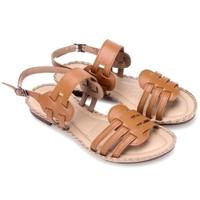 Giày sandal đế thấp màu bò - HH7030