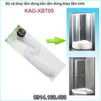 Xả bồn tắm đứng, xả bồn tắm kính KAG-XBT05