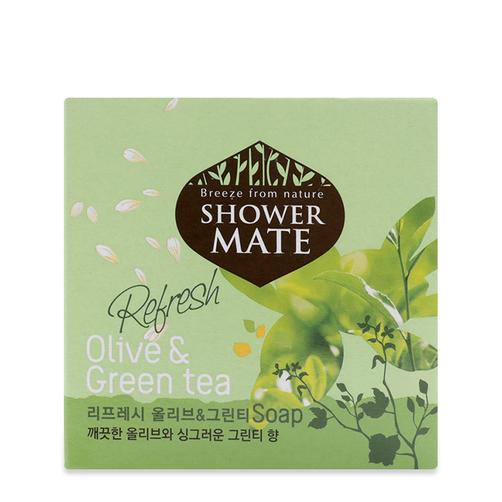 Xà bông Shower Mate Olive & Green Tea 100g