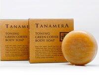 Xà bông tắm cà phê xanh Tanamera chống lão hóa 100g