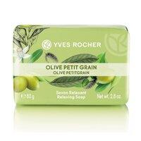 Xà phòng hương olive và tinh dầu chanh Yves Rocher Relaxing Soap Olive Petit Grain 80g