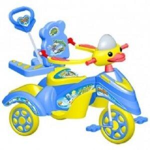 Xe 3 bánh trẻ em có nhạc Nhựa Chợ Lớn M991B-X3B