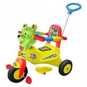 Xe 3 bánh trẻ em có nhạc Nhựa Chợ Lớn M1263B-X3B