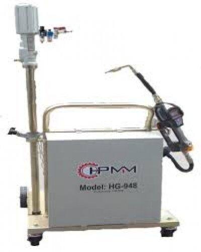 Xe bơm dầu thùng phuy có đồng hồ định lượng HG-948