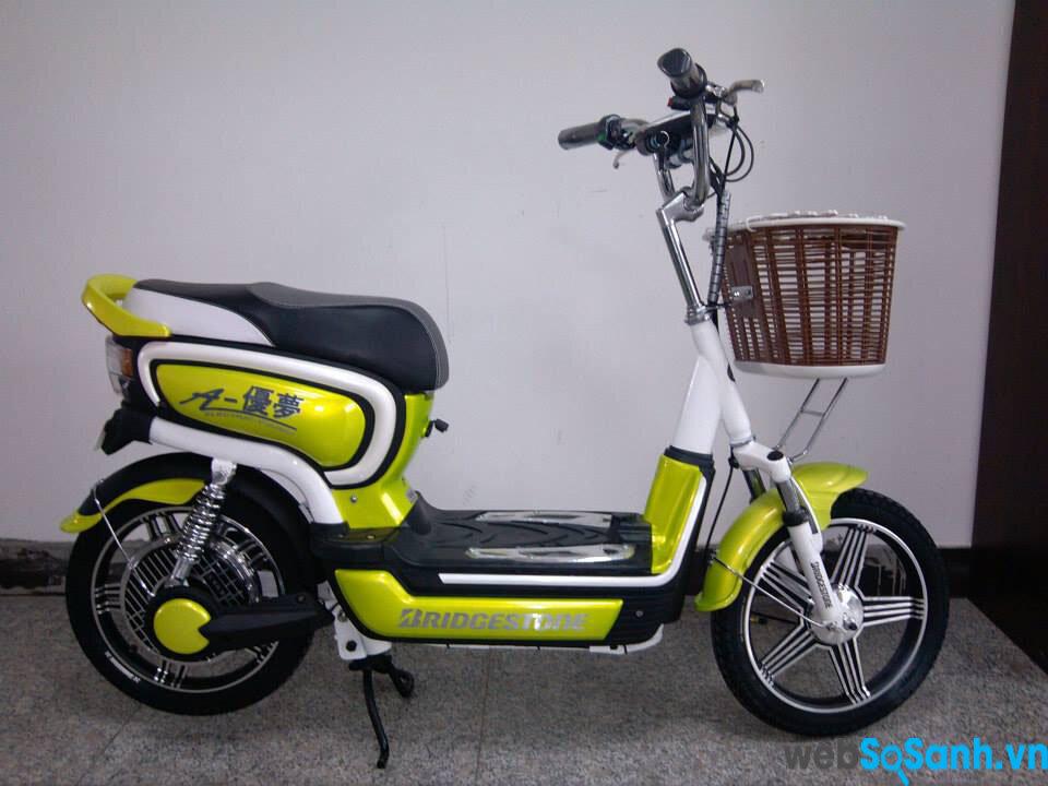 Xe đạp điện Bridgestone AYM