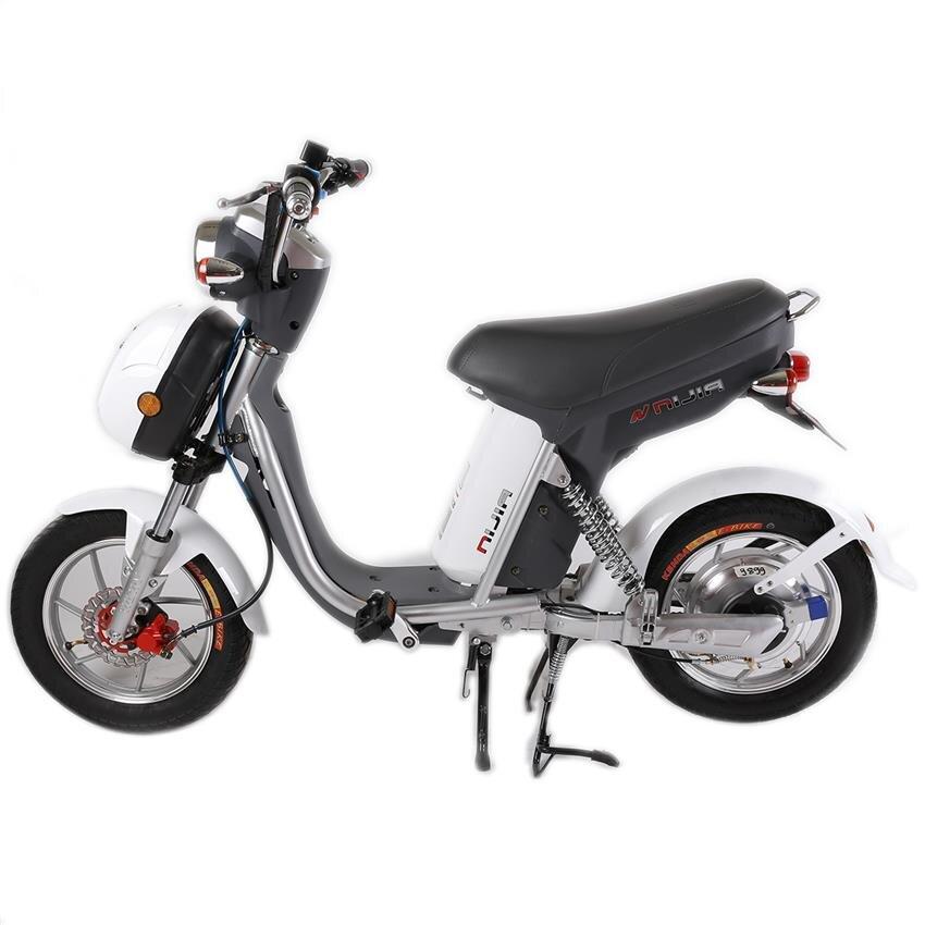 Xe đạp điện Nijia 2014 - Phanh cơ lốp liền săm (lốp không săm)