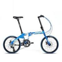 Xe đạp gấp Java Fit 16S-D (Xanh)