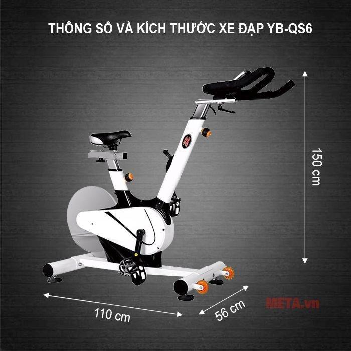 Xe đạp tập YB-QS6