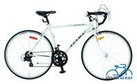 Xe đạp thể thao Asama AMT 28 (RB002) - màu đen/ ghi/ trắng/ đỏ