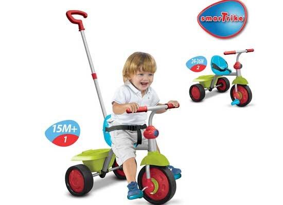 Xe đạp trẻ em 3 bánh Smart Trike Fun 2 trong 1