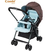 Xe đẩy Combi Well Comfort Cozy WT 200D - màu xanh/ đỏ/ tím
