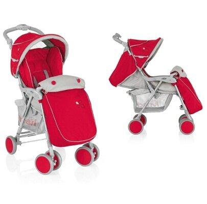 Xe đẩy em bé có mái che linh động Brevi Grillo 2.0 New - màu xanh đen (trên 0 tháng tuổi)