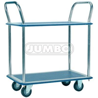 Xe đẩy hàng Jumbo HL 120D - Tải trọng 150kg