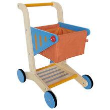 Xe đẩy siêu thị bằng gỗ Hape Shopping Cart E3123A