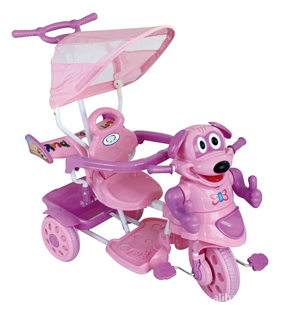 Xe đẩy trẻ em 3 bánh 762A (762)