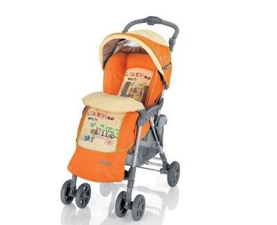 Xe đẩy trẻ em Brevi Grillo 2.0 BRE711 - màu 003/ 262/ 051/ 006/ 340/ 312/ 318/ 233