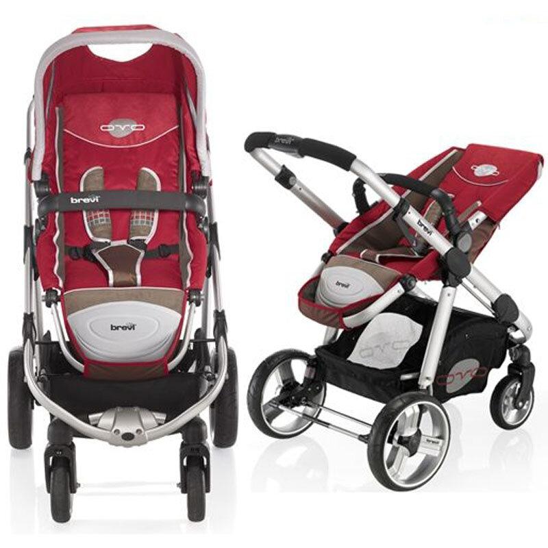 Xe đẩy trẻ em Brevi OVO BRE728 - màu 079/ 049/ 003/ 051 - 2 chiều