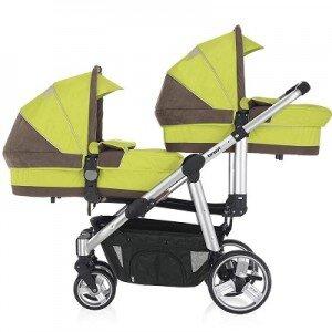 Xe đẩy trẻ em đôi Brevi Ovo BRE781 - màu 051/ 262