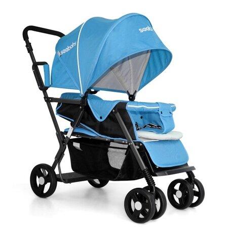 Xe đẩy trẻ em đôi Seebaby T12