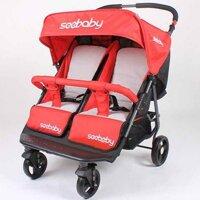 Xe đẩy trẻ em đôi Seebaby T22 nhiều màu