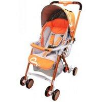 Xe đẩy trẻ em Lucky Baby Smart S2 888018 - màu RD/ BK/ OR, 2 chiều