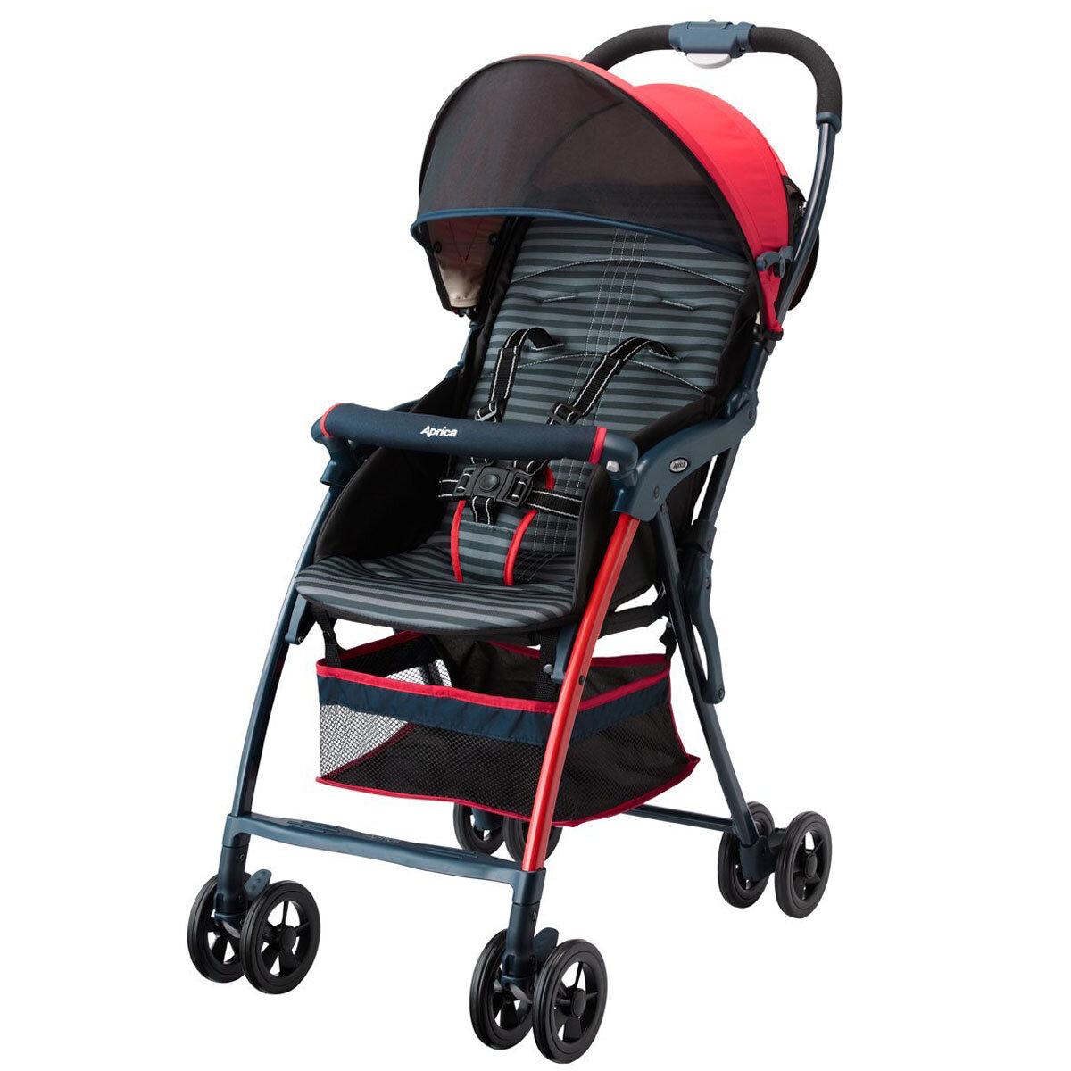 Xe đẩy trẻ em siêu nhẹ Aprica Magical Air - màu RD, NV, SX, GN