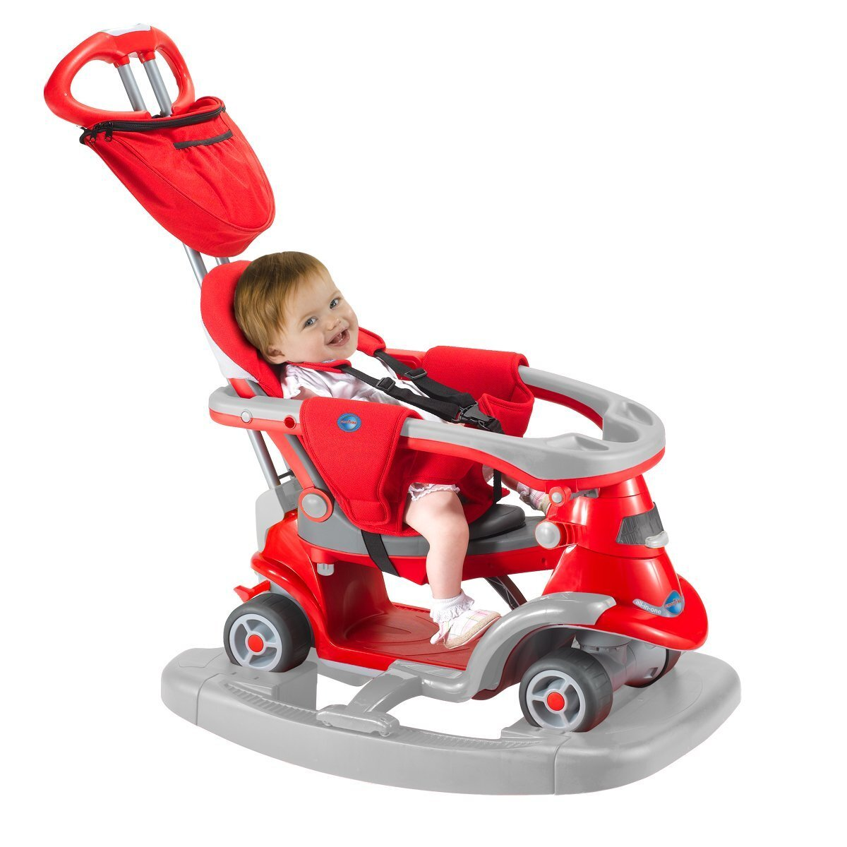Xe đẩy trẻ em Smart-trike AIO All in One 4 trong 1