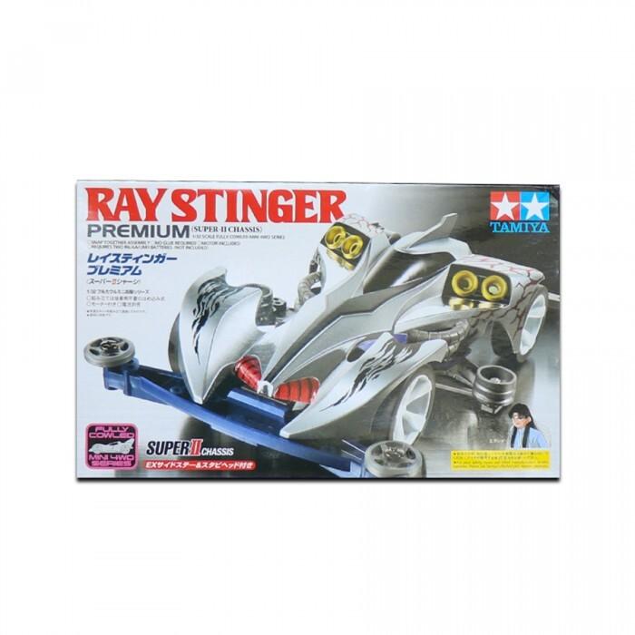 Xe đua mô hình Ray Stinger Prem (gầm Super II)- Tamiya Mini 4WD