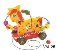 Xe kéo luồn hạt con vật Veesano VM125
