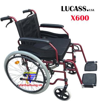 Xe lăn hợp kim nhôm Lucass X600